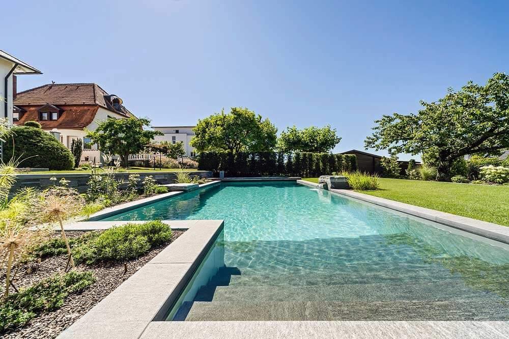 Teichmeister naturpool baden in nat rlicher umgebung for Stabile garten pools